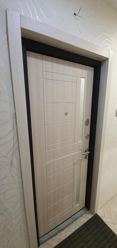 Установка откосов для двери Torex из экошпона