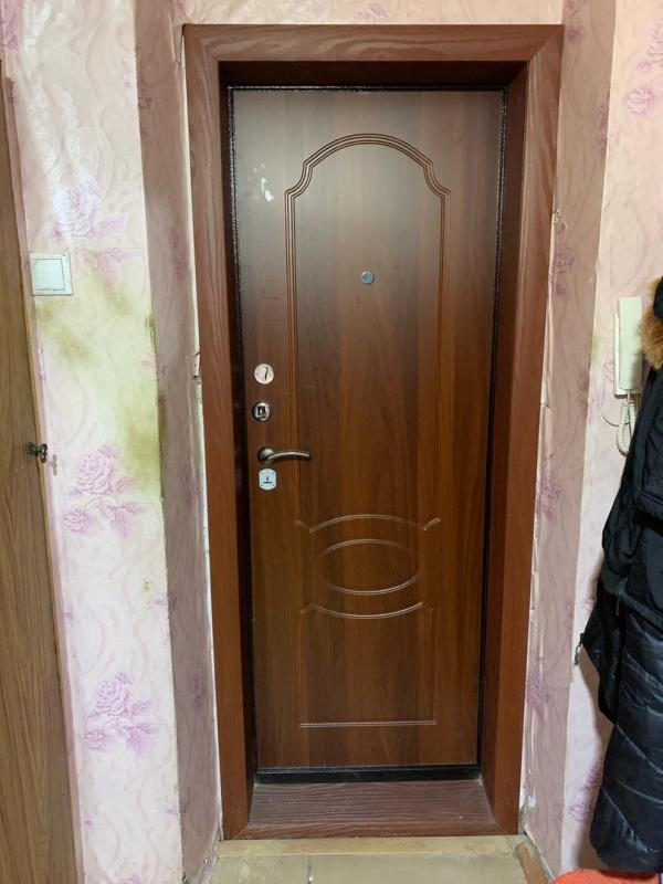 Установка входной двери Кондор 7 (итальянский орех)