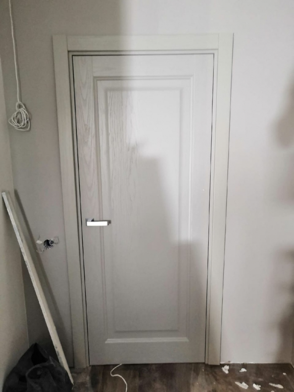 Заказ на межкомнатные двери Sofia в шпоне ясеня