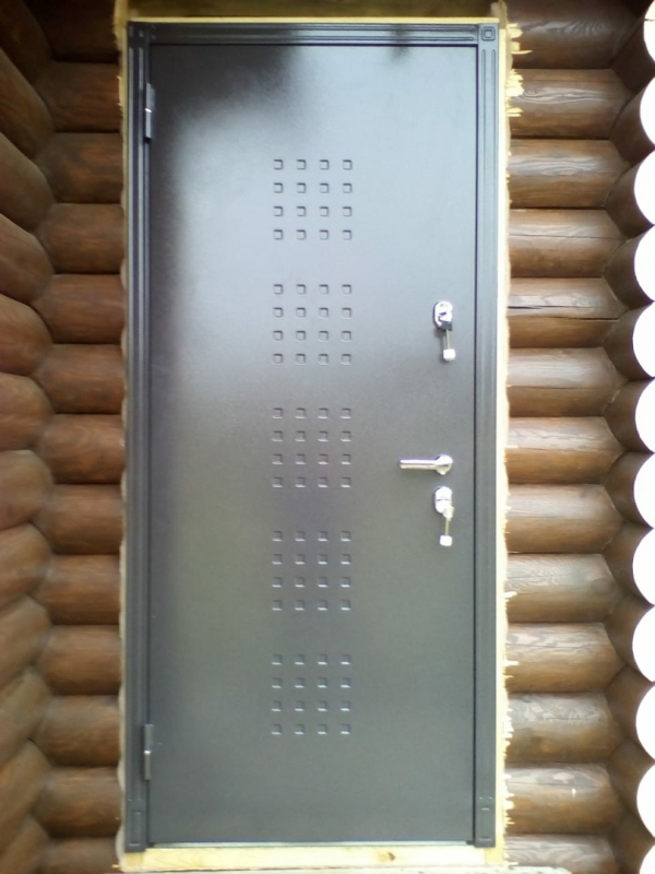 Установка Термо-1 (дверь с терморазрывом) от компании Buldoors