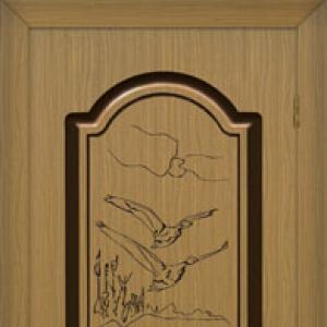 Межкомнатная дверь Виктория (глянцевая)