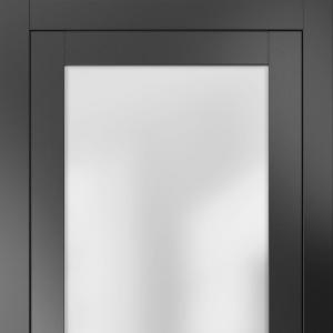 Межкомнатная дверь Волховец NEO CLASSIC 2102n МЧР. Матовый черный