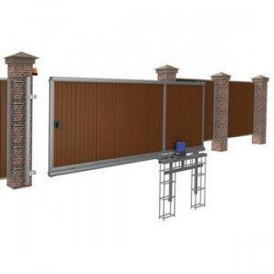 Откатные ворота DoorHan 3500x2000 мм