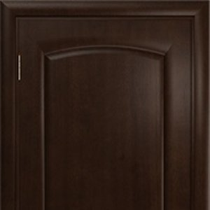 "Межкомнатная дверь Арт Деко ""Оливия"", махагон, глухая"