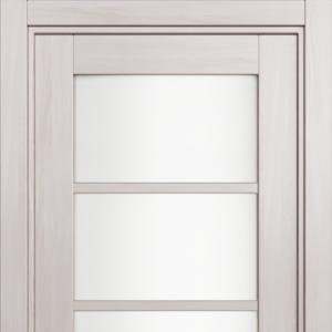 Межкомнатная дверь Status Optima 122 триплекс белый ясень