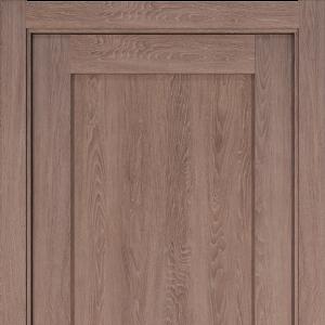 Межкомнатная дверь Status Optima 111 дуб капучино
