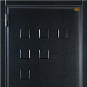 Входная дверь СТАЛ-35R с панелью Модерн