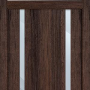 Межкомнатная дверь Status Futura 322 зеркало орех