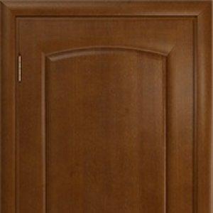 Межкомнатная дверь Арт Деко Оливия, итальянский орех, глухая