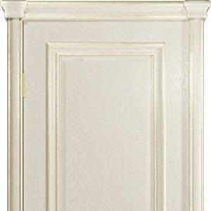Межкомнатная дверь Арт Деко Аттика-2-3, цвет аква, стекло гравировка