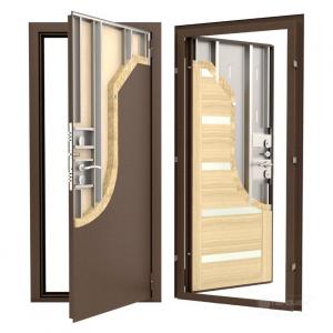 Входная дверь ДФ