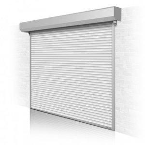 Рулонные ворота для гаража Alutech с автоматическим приводом 2200x2750 мм
