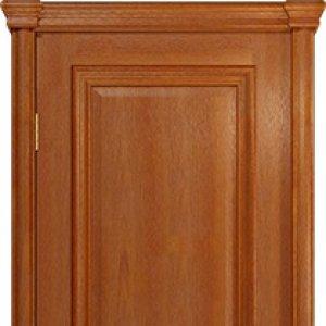 Межкомнатная дверь Арт Деко Аттика-2 , цвет красное дерево, глухая