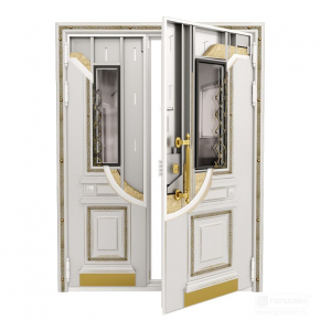Входная дверь Дворцовая двустворчатая