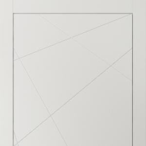 Межкомнатная дверь Волховец Linea 8048 МСР. Матовый серый
