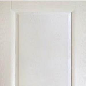 Межкомнатная дверь Дворецкий классик глухая беленый дуб