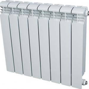 Радиатор Rifar Base 500 9 секций биметаллический с боковым подключением