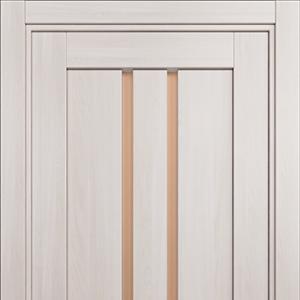 Межкомнатная дверь Status Optima 133 бронза ясень