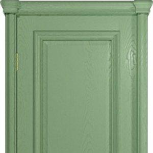 Межкомнатная дверь Арт Деко Аттика-2 , цвет фисташка, глухая