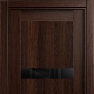 Межкомнатная дверь Status Estetica 832 глосс черное орех