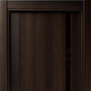 Межкомнатная дверь Status Futura 321 лакобель коричневое орех