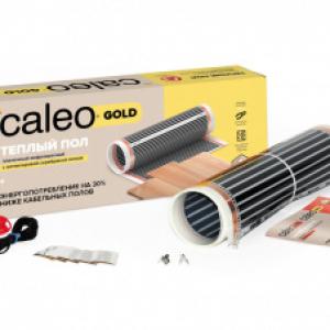 Пленочный теплый пол CALEO GOLD 230 Вт/м2, 20 м2