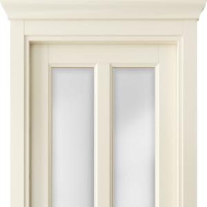 Межкомнатная дверь Волховец Galant 1412. Матовый слоновая кость