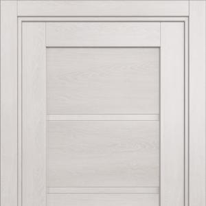 Межкомнатная дверь Status Optima 112 дуб белый