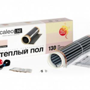 Пленочный теплый пол CALEO LINE 130 Вт/м2, 3,5 м2