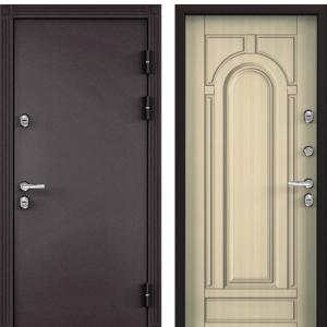 Входная дверь Бульдорс TERMO-2 Белый перламутр