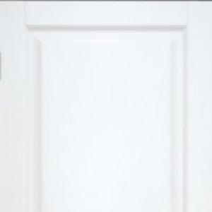 Межкомнатная дверь Дворецкий престиж 3 глухая эмаль белая