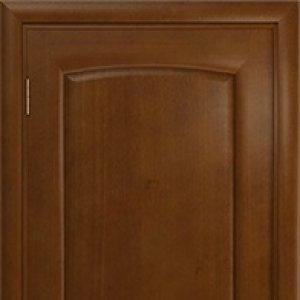 Межкомнатная дверь Арт Деко Парма, итальянский орех, глухая