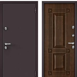 Входная дверь Бульдорс TERMO-1 Орех грецкий