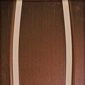 Межкомнатная дверь Дворецкий Диадема 3 стекло венге