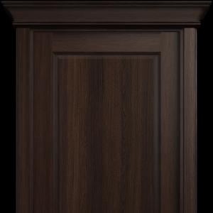 Межкомнатная дверь Status Classic 531 карниз орех