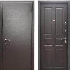Входная дверь Бульдорс Econom Букле шоколад/Ларче шоколад С-2