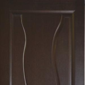 Межкомнатная дверь Дворецкий Лагуна глухая венге