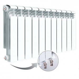 Радиатор Rifar Alum 500 Ventil 10 секций