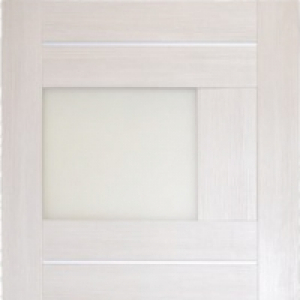 Межкомнатная дверь Дворецкий арт ново 13 стекло беленый дуб