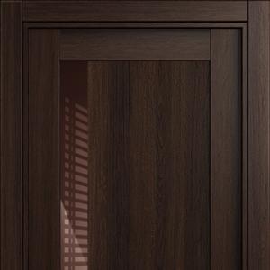 Межкомнатная дверь Status Estetica 821 глосс коричневое орех