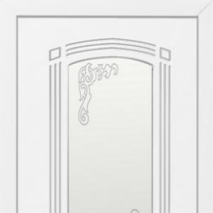 Межкомнатная дверь Ковров ПО Эмаль белая