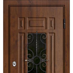Входная дверь с ковкой Верона база-44