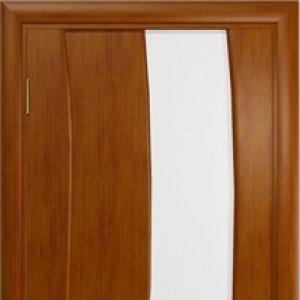 Межкомнатная дверь Арт Деко Вэла арт анегри стекло белое
