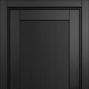 Межкомнатная дверь Status Optima 111 дуб черный