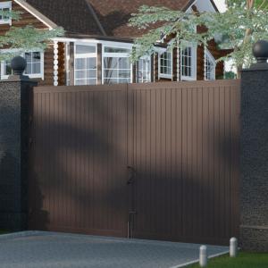 Распашные ворота DoorHan 5000x2500 мм