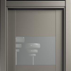 Межкомнатная дверь Status Versia 221 лакобель серое грей