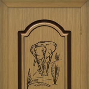 Межкомнатная дверь Палермо (матовая)