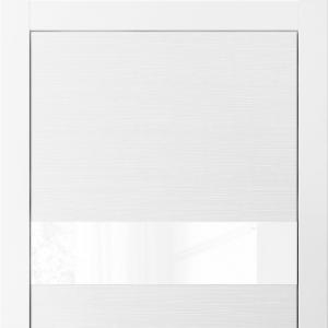 Межкомнатная дверь Волховец Avant 4037 ТБЛ . Таеда белый