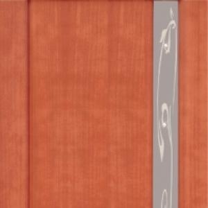 Межкомнатная дверь Дворецкий марсель 1 стекло анегри