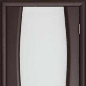 Межкомнатная дверь Дворецкий Диадема 2 стекло венге